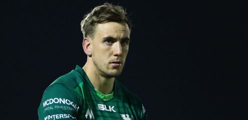 Porch handed first start in Guinness PRO14 clash with Dragons
