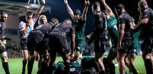 Clinical Connacht move top of Conference B with bonus point win at Dragons