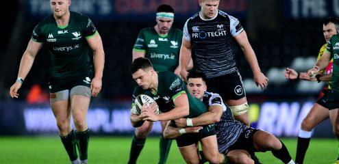 Two first half tries secures fourth win in a row for Connacht