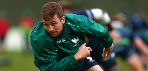 Carty to start as Aki named on the bench for Connacht clash with Leinster
