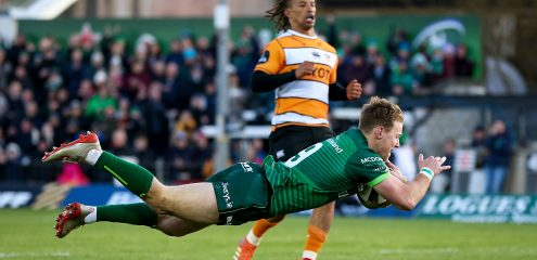 Irish International Kieran Marmion extends contract with Connacht up to 2023