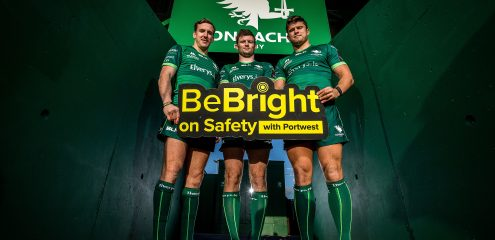 Portwest and Connacht Rugby launch new campaign to highlight road safety