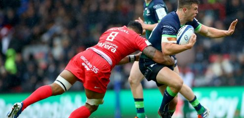 Brave effort in Toulouse not enough as French Champions claim victory