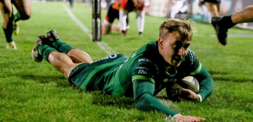 Porch double secures bonus point for Connacht