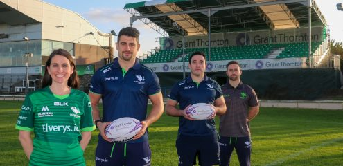 Grant Thornton extend partnership with Connacht Rugby up to 2022