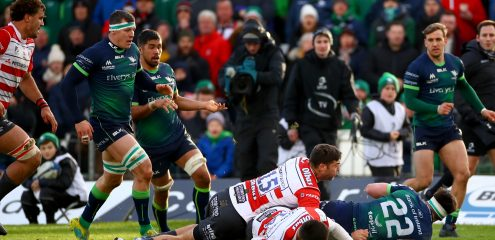 Two tries at the death secures Champions Cup win over Gloucester