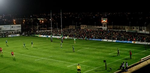 Additional terracing to increase capacity for interprovincial clash with Munster