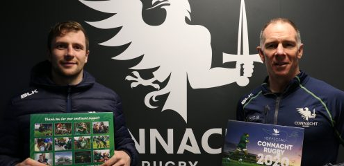 Connacht Rugby launch Official 2020 Calendar