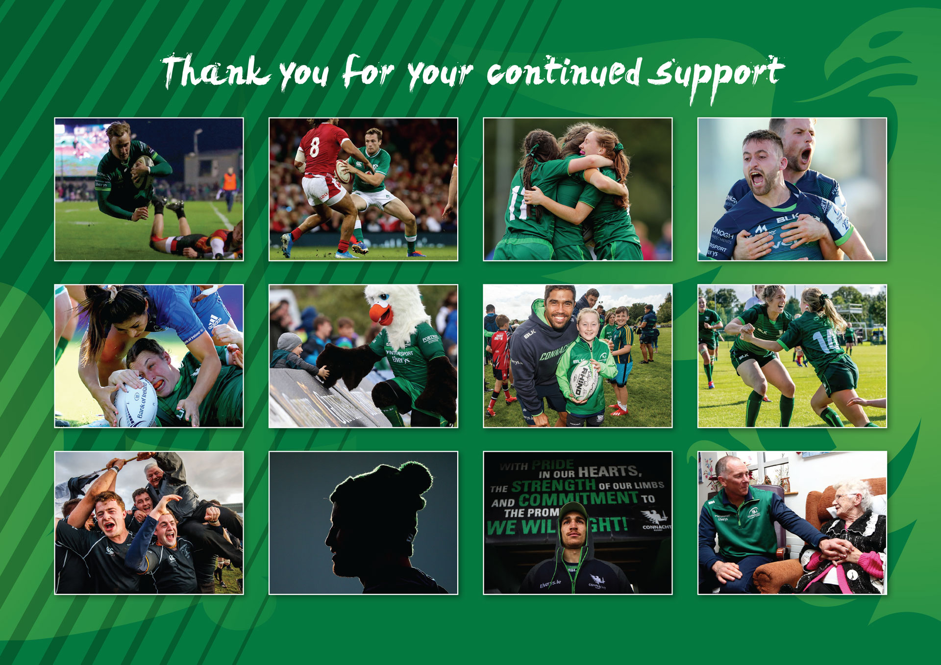 Connacht 2020 Calendar Overview