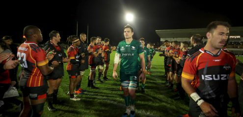 Quinn Roux to Captain Connacht on his 100th appearance for the province
