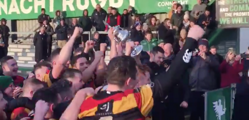 Sligo RFC claim historic Connacht Senior Cup success
