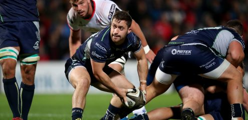 Caolin Blade to Captain Connacht for clash with Ulster in Belfast