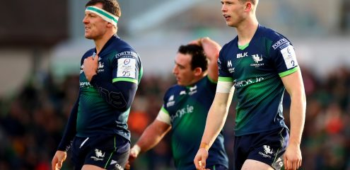 Murray set for first Connacht start as Thornbury returns from injury to face Leinster in the RDS