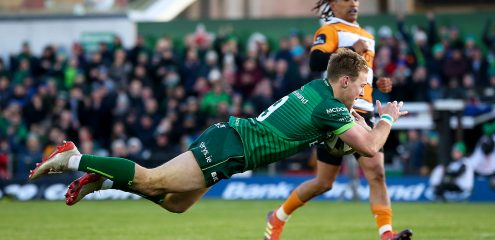 Marmion returns from injury for Connacht's Champions Cup clash with Montpellier