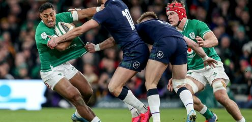 Aki retains Ireland spot for Triple Crown decider in Twickenham