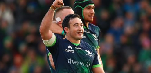 Connacht make four changes for clash with Edinburgh in Murrayfield