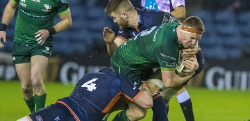Edinburgh secure bonus point against Connacht in Murrayfield