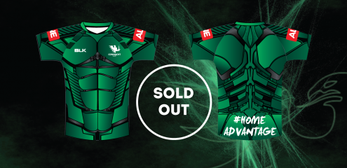 Limited-Edition Heroes Jersey Sold Out