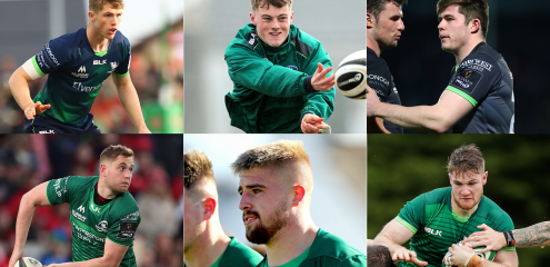 Six Connacht Academy Players Sign First Pro Contracts