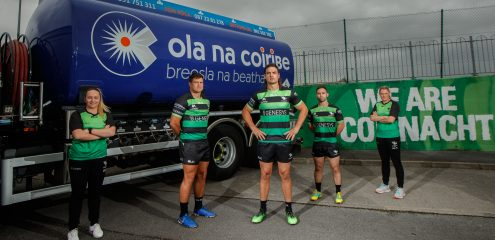 Connacht Rugby Announces Three-Year Partnership with Corrib Oil