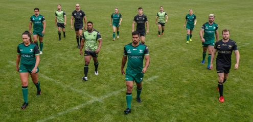 Connacht Rugby and BLK Sport Launch Home, Away & European Jersey 2020/21