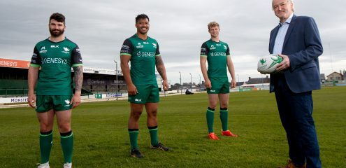 Connacht Rugby announce renewal of partnership with McDonogh Capital Investments
