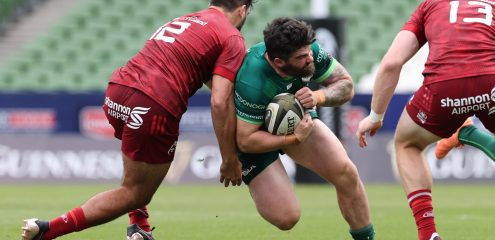 Two changes to Connacht starting XV for Cardiff Blues clash