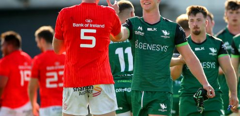 Connacht Squad Update Friday 9th October