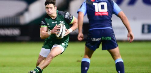 Connacht squad named for Sunday trip to Edinburgh in Guinness PRO14