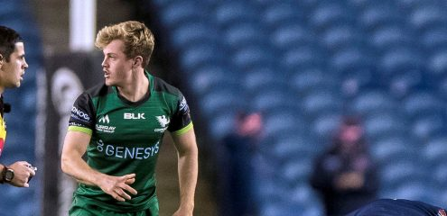 Reilly and Kenny to make first Connacht starts in Guinness PRO14 visit of Scarlets