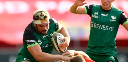 Paul Boyle to captain Connacht in Ospreys clash