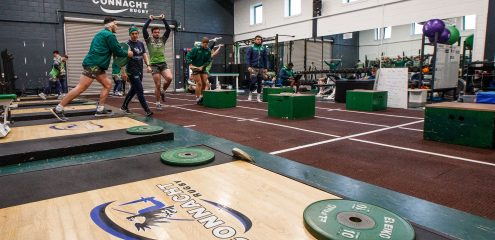 Connacht Rugby To Host Free Female Rugby Strength and Conditioning Webinars