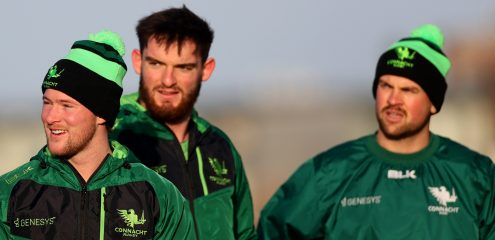 Heffernan, Bealham & Marmion return to Connacht starting team for Racing clash
