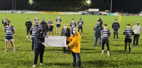 Galway Corinthians RFC Fundraiser raises over €8,500 for Galway RNLI and Cancer Care West