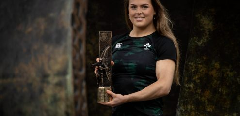 """Every coach from mini to youth rugby had their part to play in her achievement. It all starts with club rugby."" Connacht's Beibhinn Parsons' Wins Irish Rugby Writers Women's Player of The Year"