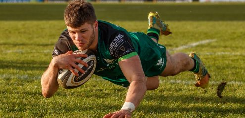 Connacht Eagles team named for Munster 'A' friendly at The Sportsground