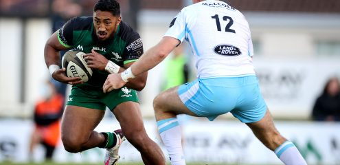 Irish international trio drafted into Connacht XV for visit of Cardiff Blues