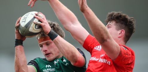 Academy duo handed first starts and McNulty set for debut in Connacht side to face Edinburgh