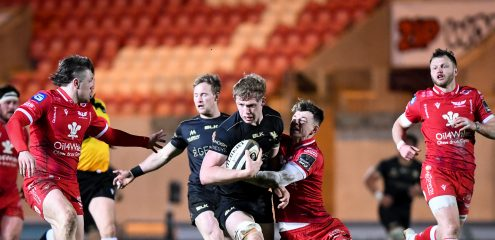 Connacht Fall To Narrow Scarlets Defeat