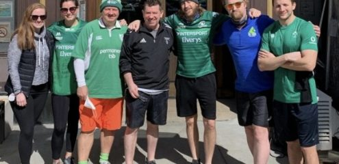 """I love the fact that events like this helps me stay in touch with my club back home"" Connacht Rugby For The Love of The Club Event Leaves Worldwide Footprint"