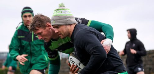Connacht side named for Guinness PRO14 Rainbow Cup opener with Ulster
