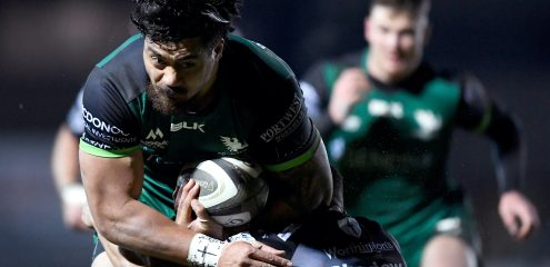 Abraham Papali'i signs contract extension with Connacht Rugby