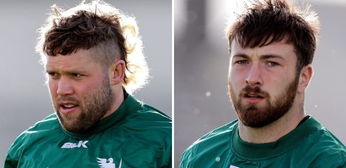 Hookers Jonny Murphy and Dylan Tierney-Martin sign Professional contracts for 2021-22