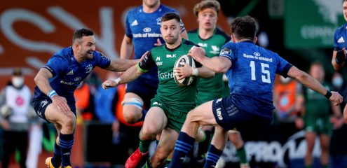 Leinster too good for Connacht in Rainbow Cup clash