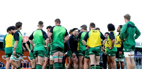 Connacht Rugby confirm departing players