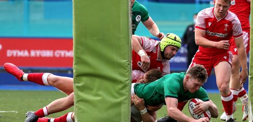Five Connacht players named in crucial U20 Six Nations clash with England