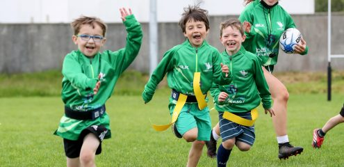 GALLERY: Connacht Rugby Total Health Summer Camps Return