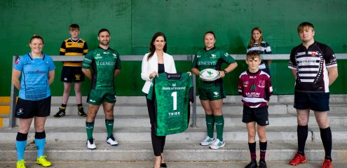Connacht Rugby extends partnership with Bank of Ireland