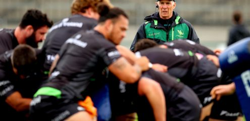 GALLERY: Training ahead of URC game against Cardiff
