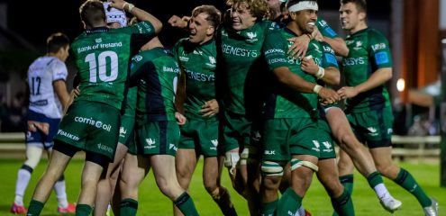 Brilliant Connacht Welcome Fans With 34-7 Victory Over The Bulls